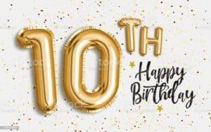 יום הולדת 10